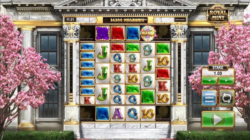 Jugar Gratis a la Royal Mint Megaways tragaperras online