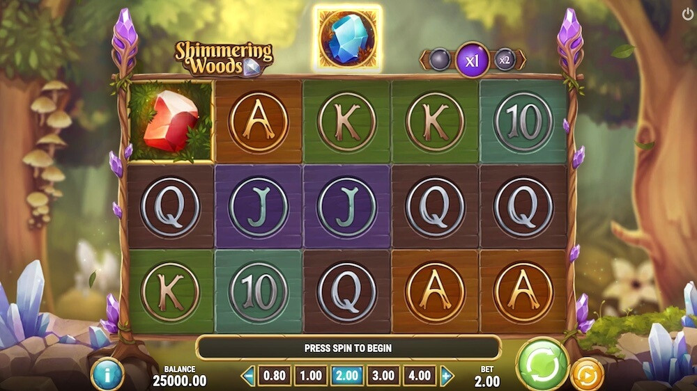 Jugar Gratis a la Shimmering Woods tragaperras online
