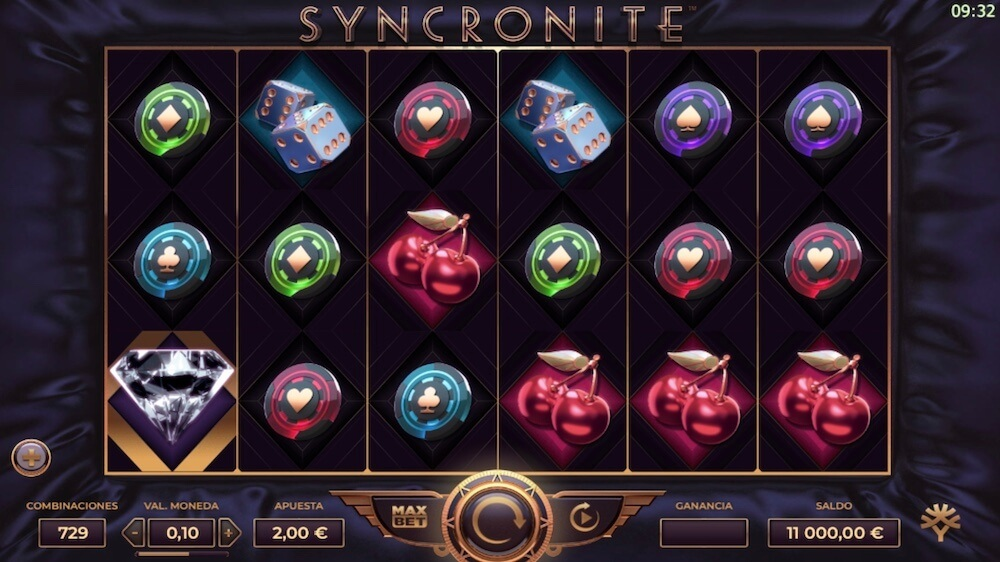 Jugar Gratis a la Syncronite Splitz tragaperras online