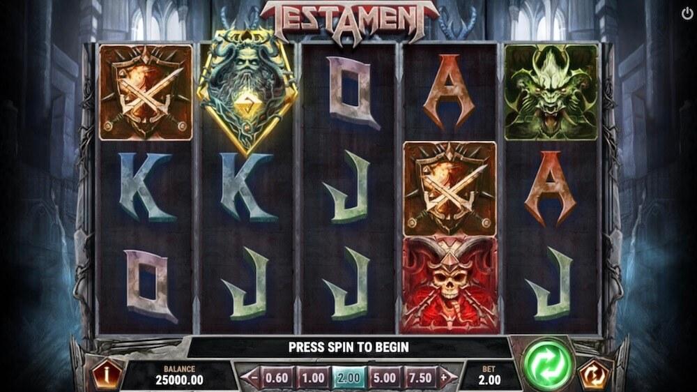 Jugar Gratis a la Testament tragaperras online
