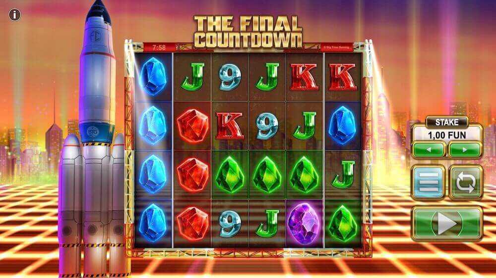 Jugar Gratis a la The Final Countdown tragaperras online