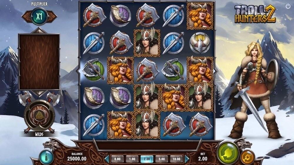 Jugar Gratis a la Troll Hunters 2 tragaperras online
