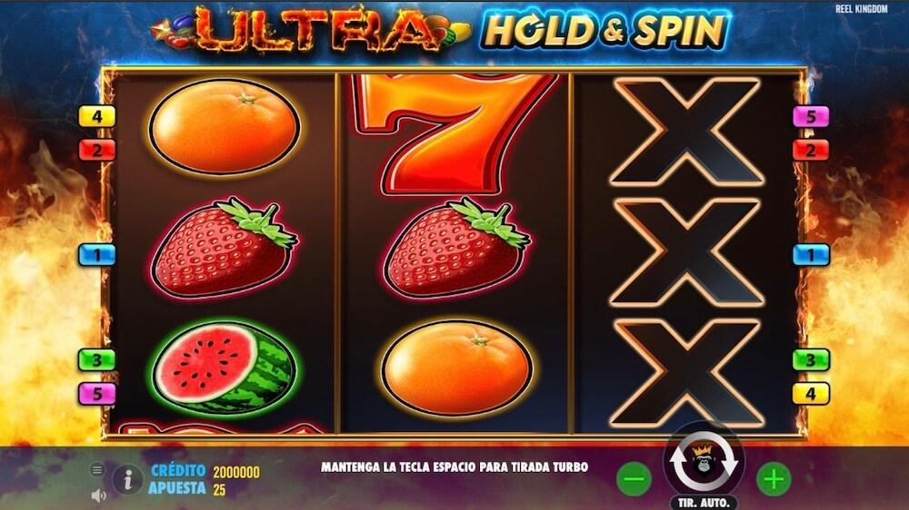 Jugar Gratis a la Ultra Hold and Spin tragaperras online