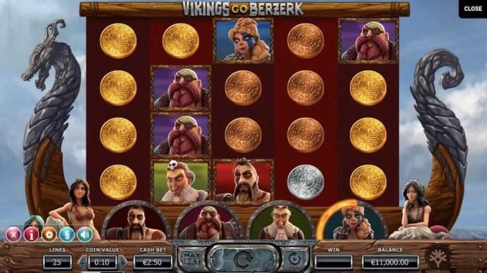 Jugar Gratis a la Vikings Go Berzerk tragaperras online
