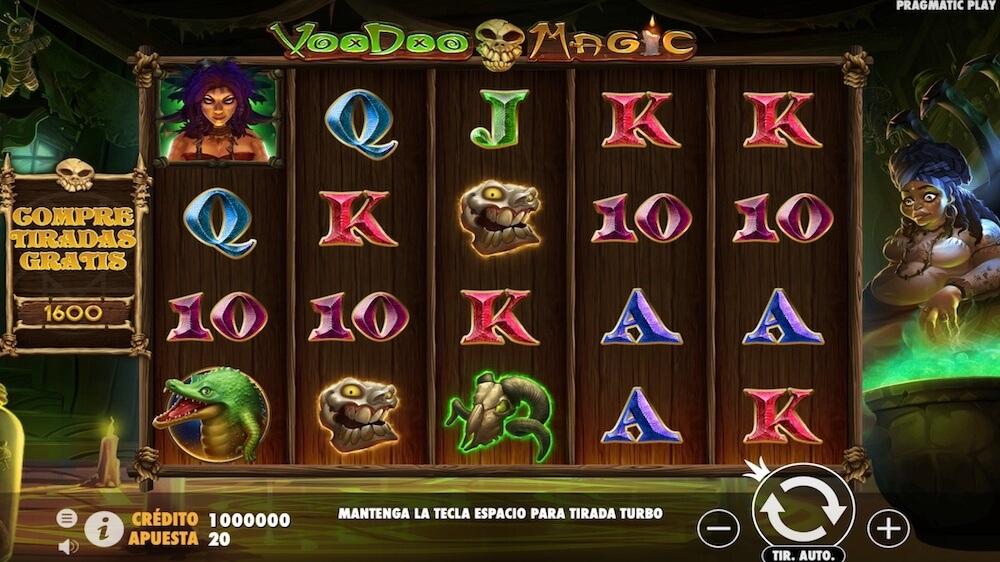 Jugar Gratis a la Voodoo Magic tragaperras online