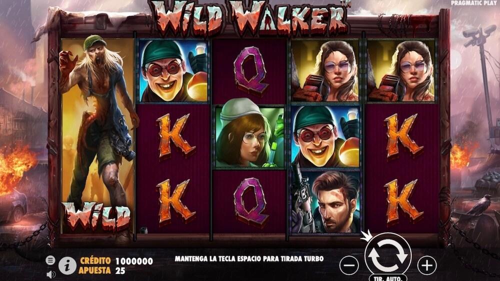 Jugar Gratis a la Wild Walker tragaperras online