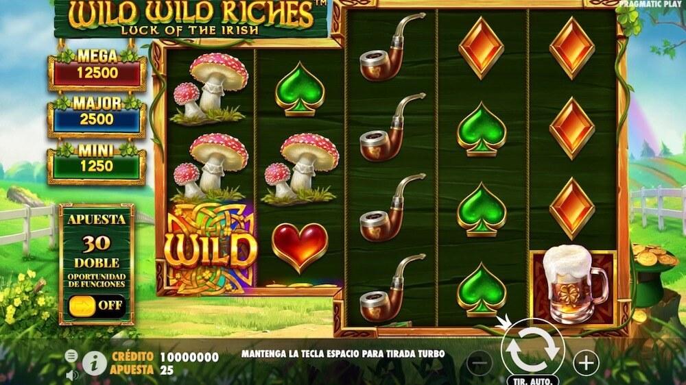 Jugar Gratis a la Wild Wild Riches tragaperras online