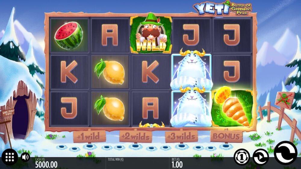 Jugar Gratis a la Yeti tragaperras online
